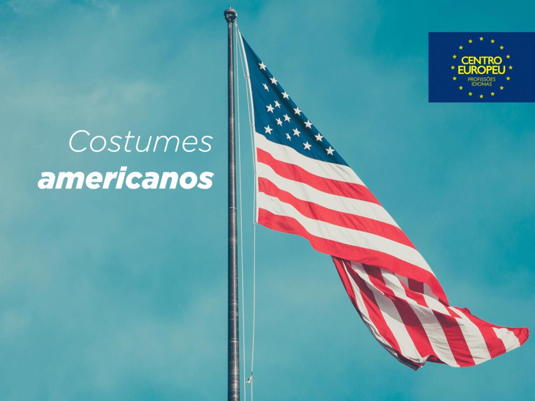Costumes americanos que são diferentes para os brasileiros