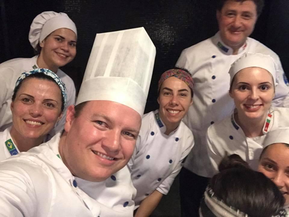 Para meus alunos da Gastronomia do Centro Europeu